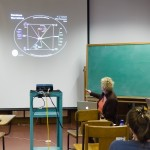 Ruth Tringham of the Center for Digital Archaeology describes the symantic web during her talk on the intersections between physical experience of place and digital media.