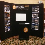 CoDA Booth is ready to roll